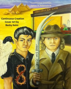 Continuous Creation Cover Art by Becky Kelm 23DEC2015